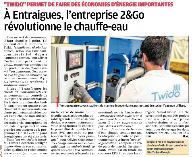 Article La Provence (05/05/15)