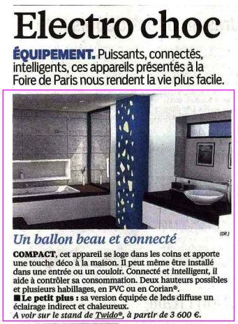 Article Aujourd'hui en France (03/05/15)